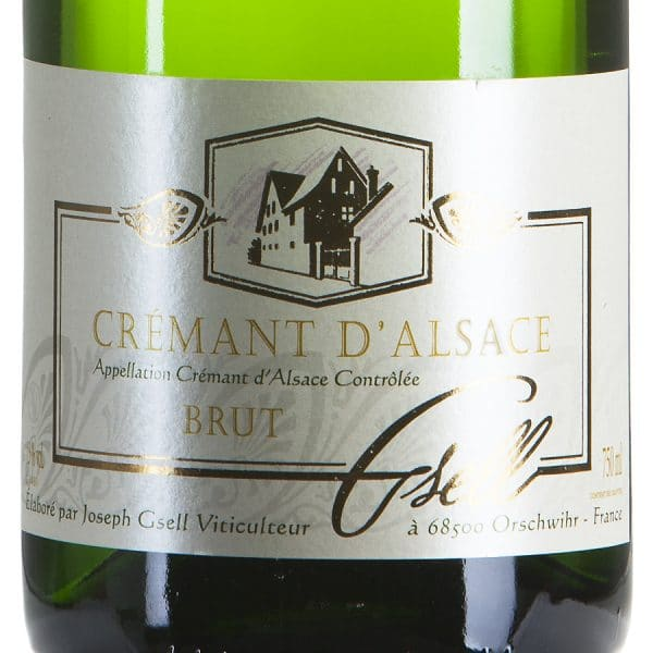 Cremant d'Alsace Blanc Chardonnay Biologico etichetta