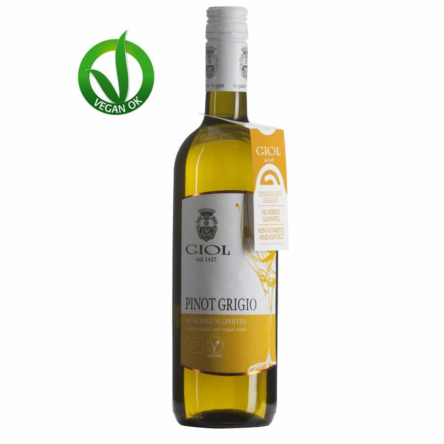 Pinot grigio biologico vegano