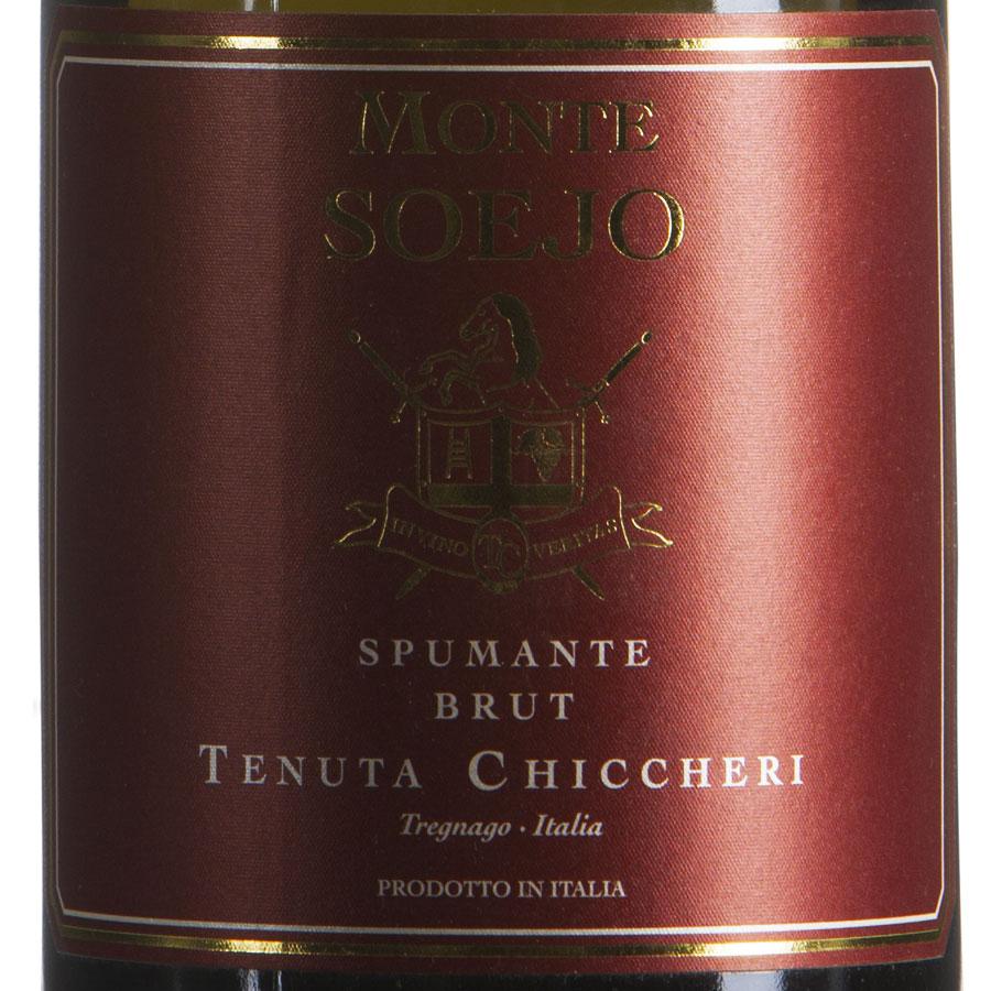 Spumante Brut Soejo Chardonnay etichetta