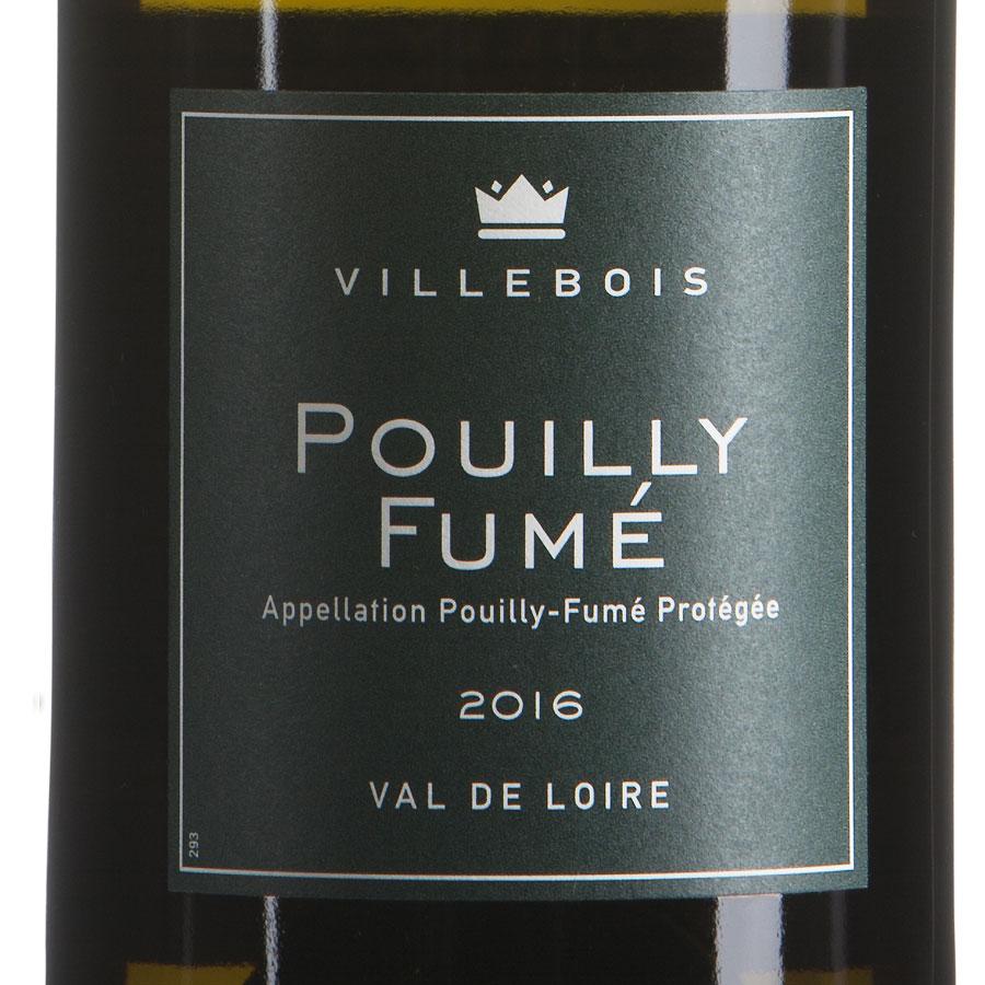 Poully-Fumé Sauvignon millesimato 2016 etichetta